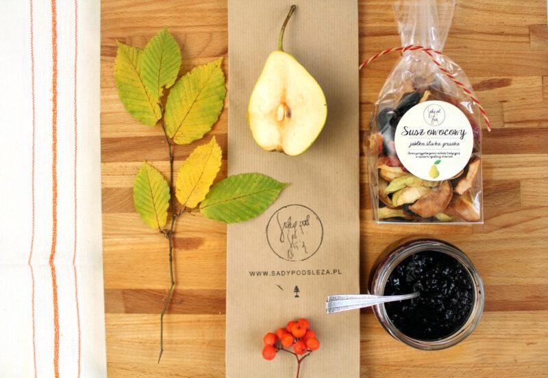 Nasze Eko-Produkty powstają z lokalnych owoców. Sady pod Ślężą, slowfood, slowlife